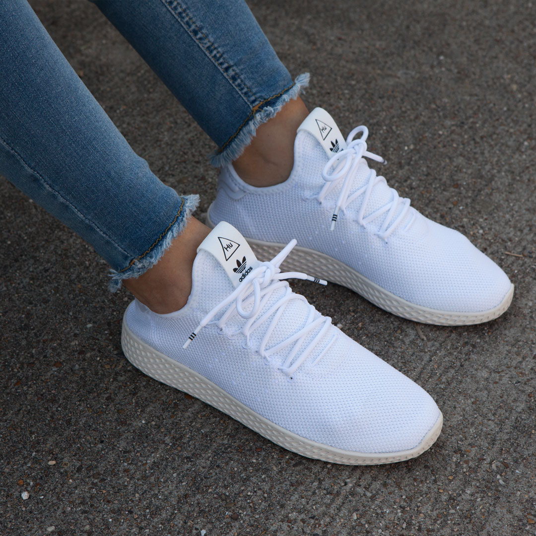 adidas witte zomer sneakers dames