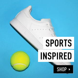 SHOP BY Sports inspired