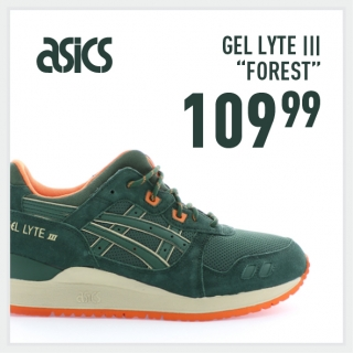 Asics Gel Lyte III Forest